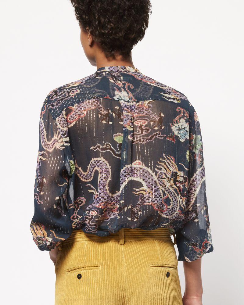 DAWS 金属感印纹衬衫 ISABEL MARANT