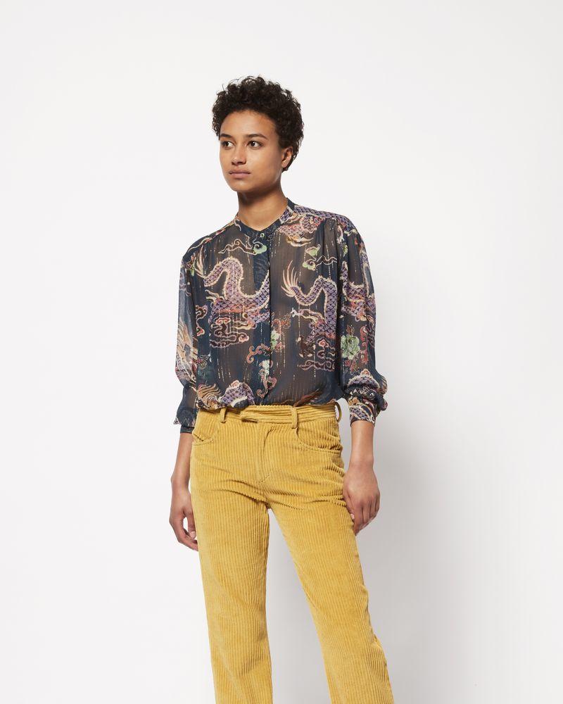 DAWS Camicia con stampa effetto metallizzato ISABEL MARANT