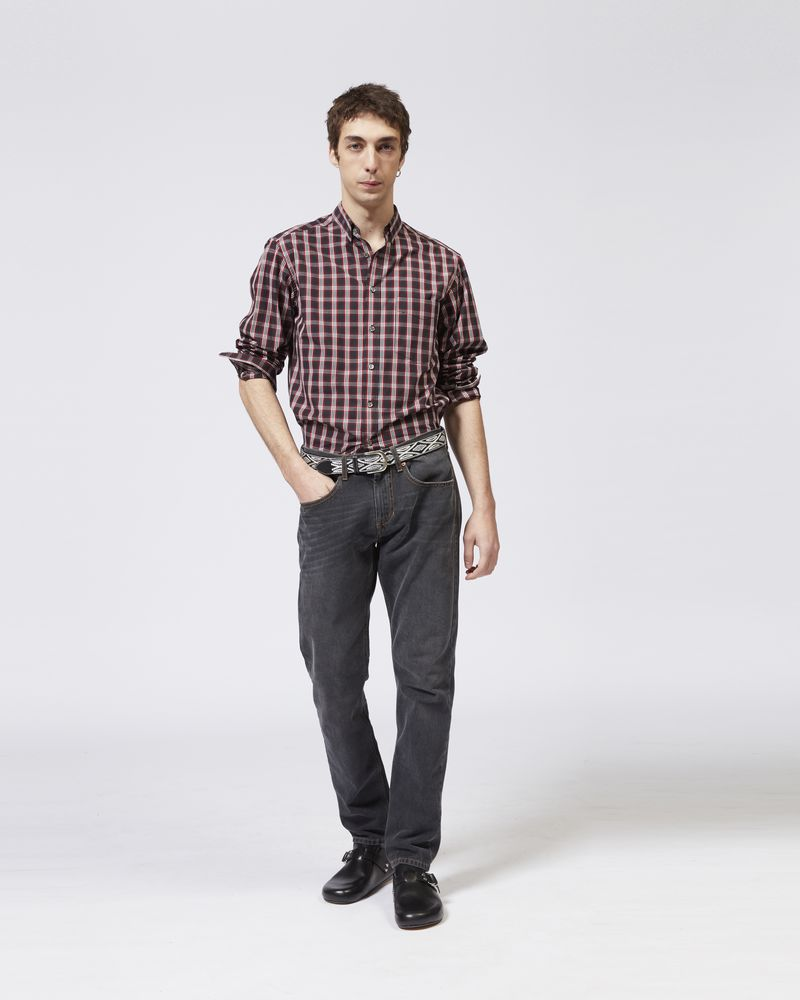 JASON plaid shirt ISABEL MARANT