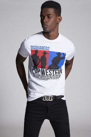 DSQUARED2 Short sleeve t-shirt Man S71GD0718S22427100 m