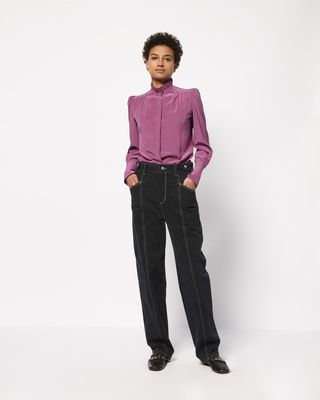 LAMIA silk shirt