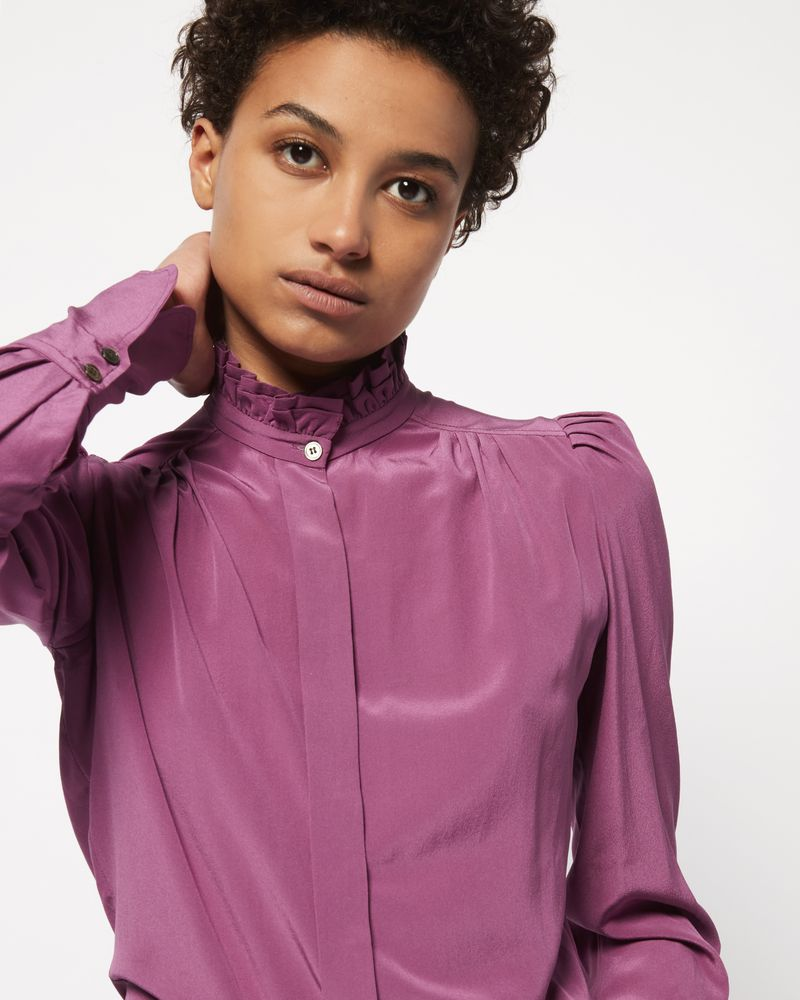 LAMIA silk shirt ISABEL MARANT