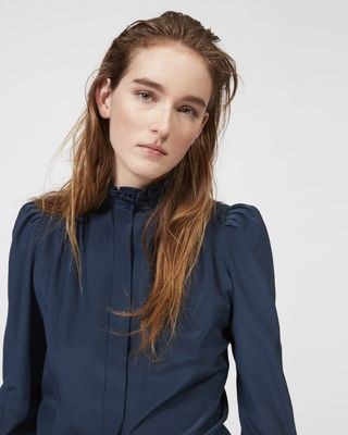 ISABEL MARANT TOP Woman LAMIA silk shirt r