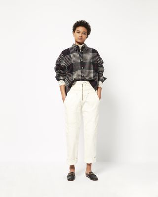 HANAO checked shirt