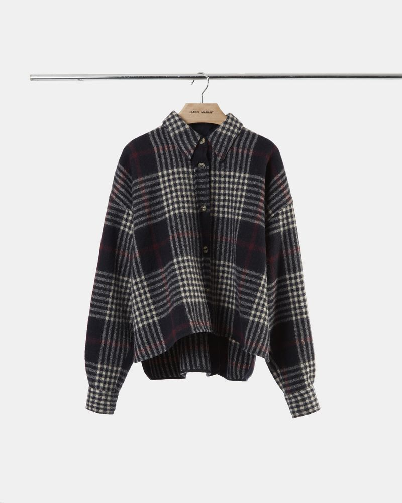 HANAO checked shirt ISABEL MARANT