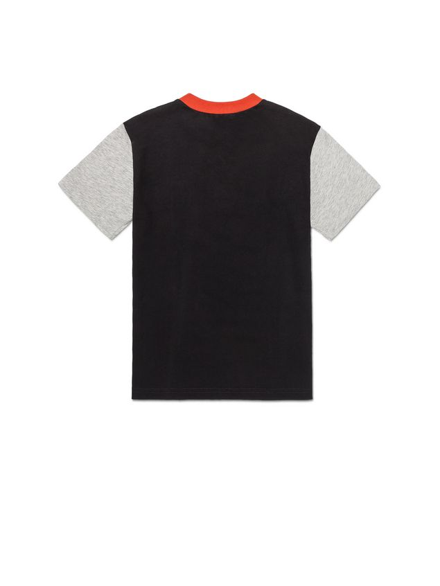Marni T-SHIRT WITH VERTICAL STRIPES AND CONTRAST NECK Man - 3