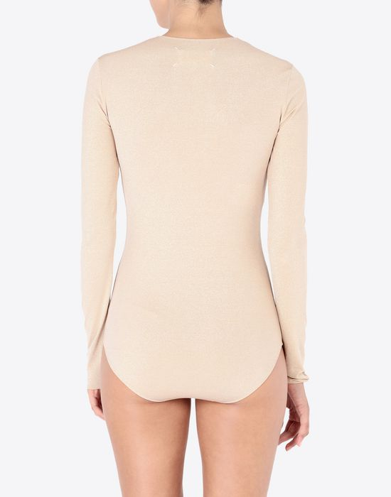 MAISON MARGIELA Long sleeve jersey body Body [*** pickupInStoreShipping_info ***] e