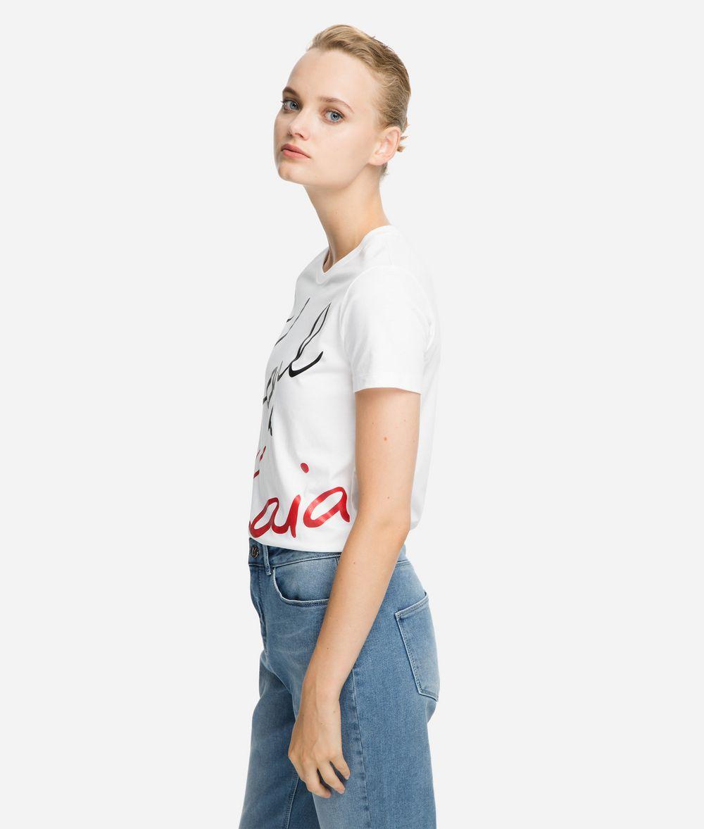 KARL LAGERFELD Karl x Kaia Signature T-Shirt T-Shirt Damen d