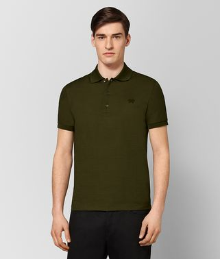 MUSTARD COTTON POLO