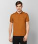 BOTTEGA VENETA ORANGE COTTON POLO Polo And Tee Man fp