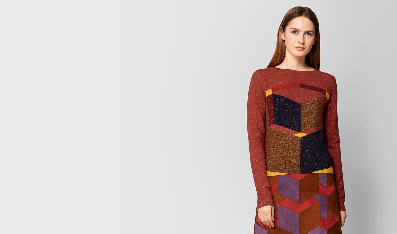 multicolor wool sweater landing