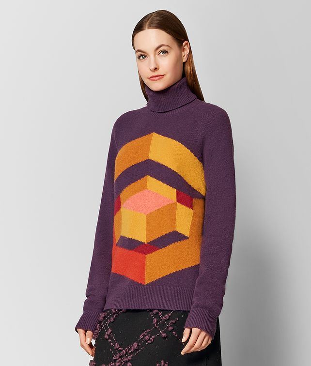 BOTTEGA VENETA MULTICOLOR WOOL SWEATER Knitwear or Top or Shirt [*** pickupInStoreShipping_info ***] fp
