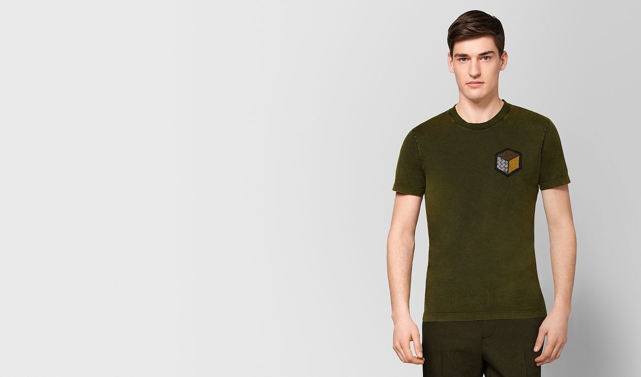mustard cotton t-shirt landing