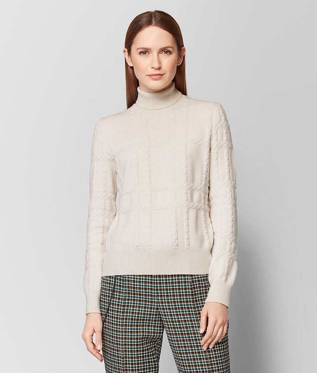 BOTTEGA VENETA MIST CASHMERE SWEATER Knitwear Woman fp