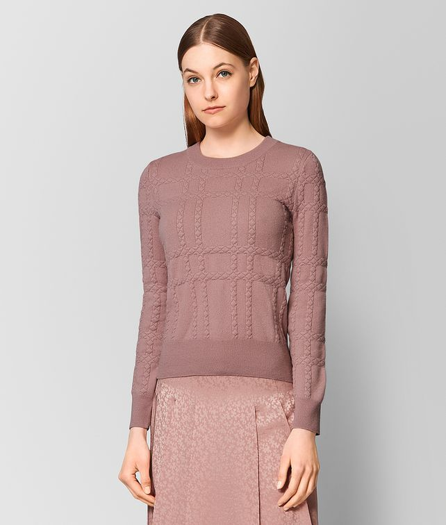 BOTTEGA VENETA DECO ROSE CASHMERE SWEATER Knitwear or Top or Shirt [*** pickupInStoreShipping_info ***] fp