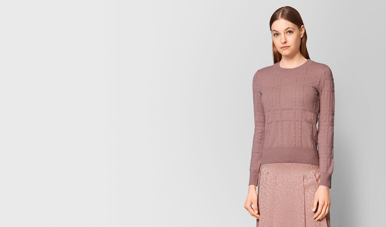 maglia in cashmere deco rose landing