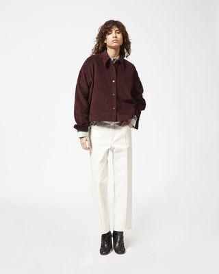 HANAO velvet shirt