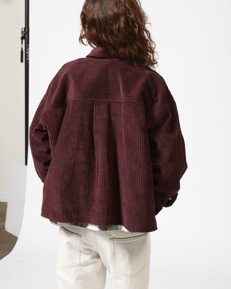 HANAO velvet shirt ISABEL MARANT