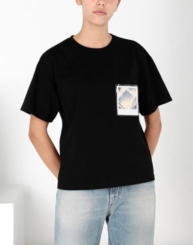 MM6 MAISON MARGIELA Short sleeve t-shirt Woman Polaroid cotton T-shirt f