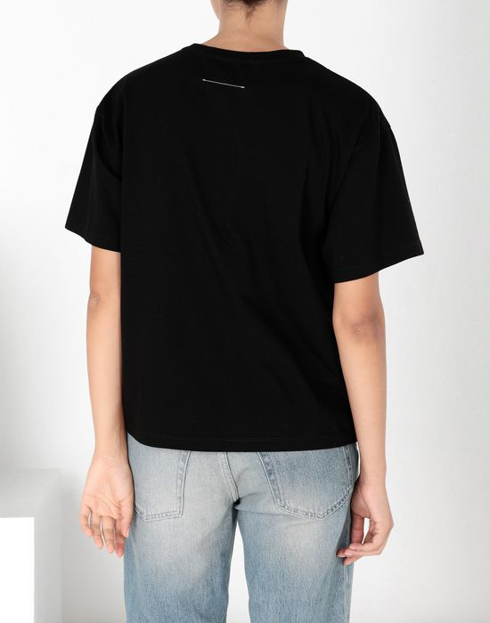 MM6 MAISON MARGIELA Polaroid cotton T-shirt Short sleeve t-shirt [*** pickupInStoreShipping_info ***] d
