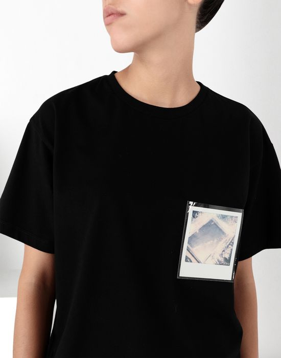 MM6 MAISON MARGIELA Polaroid cotton T-shirt Short sleeve t-shirt [*** pickupInStoreShipping_info ***] e