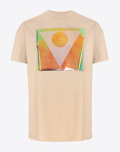MAISON MARGIELA Kurzärmliges T-Shirt Herren T-Shirt mit Symbol der Défilé A/W 18-19 Print f