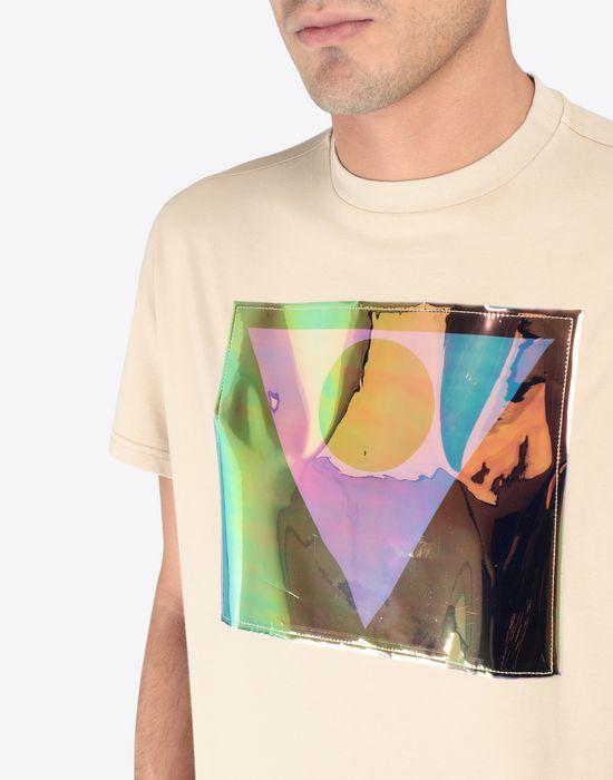 MAISON MARGIELA Défilé A/W 18-19 symbol print T-shirt Short sleeve t-shirt [*** pickupInStoreShippingNotGuaranteed_info ***] a