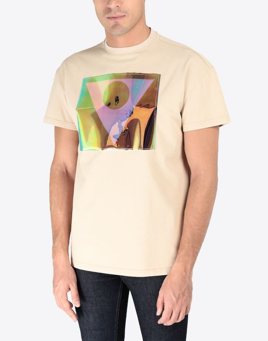MAISON MARGIELA Défilé A/W 18-19 symbol print T-shirt Short sleeve t-shirt [*** pickupInStoreShippingNotGuaranteed_info ***] r