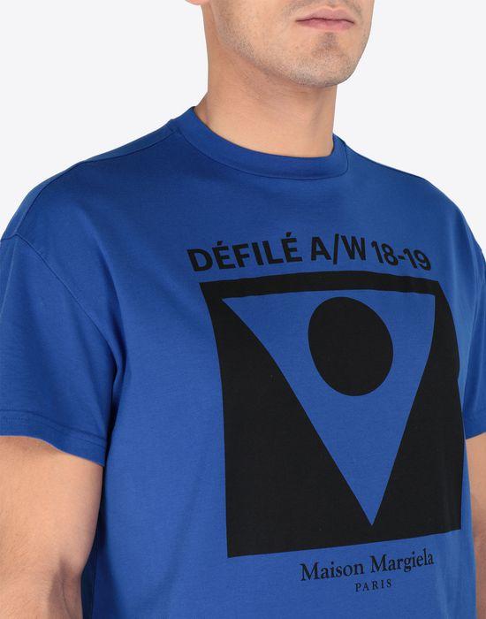 Maison Margiela Printed Cotton T Shirt Men Online
