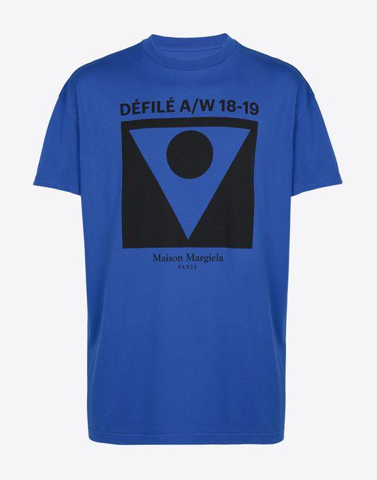 MAISON MARGIELA Printed cotton T-shirt Short sleeve t-shirt [*** pickupInStoreShippingNotGuaranteed_info ***] f
