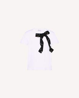 REDValentino Tシャツ レディース QR0MG10E47B FA9 a