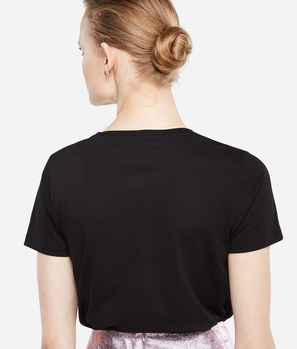 KARL LAGERFELD Karl X Kaia Ikonik T-Shirt T-shirt Woman d