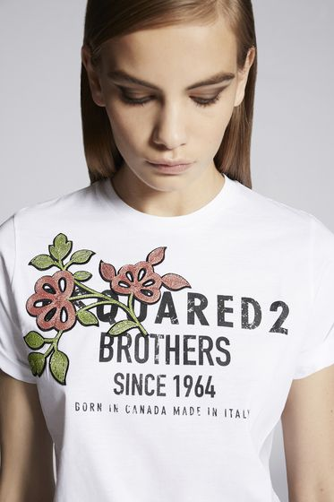 DSQUARED2 Short sleeve t-shirt [*** pickupInStoreShipping_info ***] S75GC0951S22146857M m