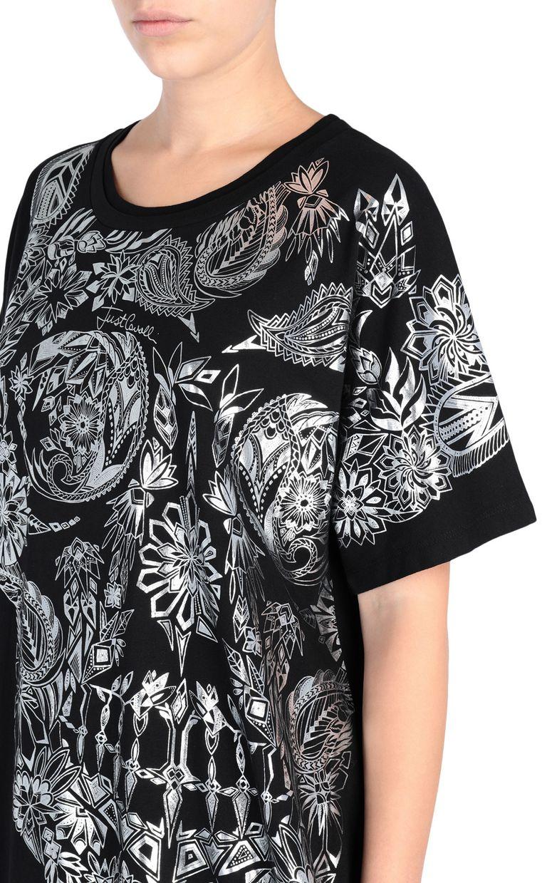 JUST CAVALLI Big Moroccan Skull T-shirt Short sleeve t-shirt [*** pickupInStoreShipping_info ***] e