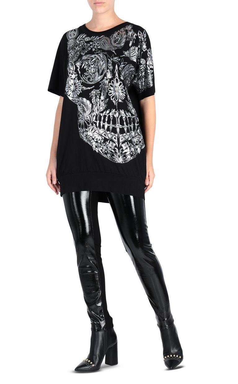 JUST CAVALLI Big Moroccan Skull T-shirt Short sleeve t-shirt [*** pickupInStoreShipping_info ***] r
