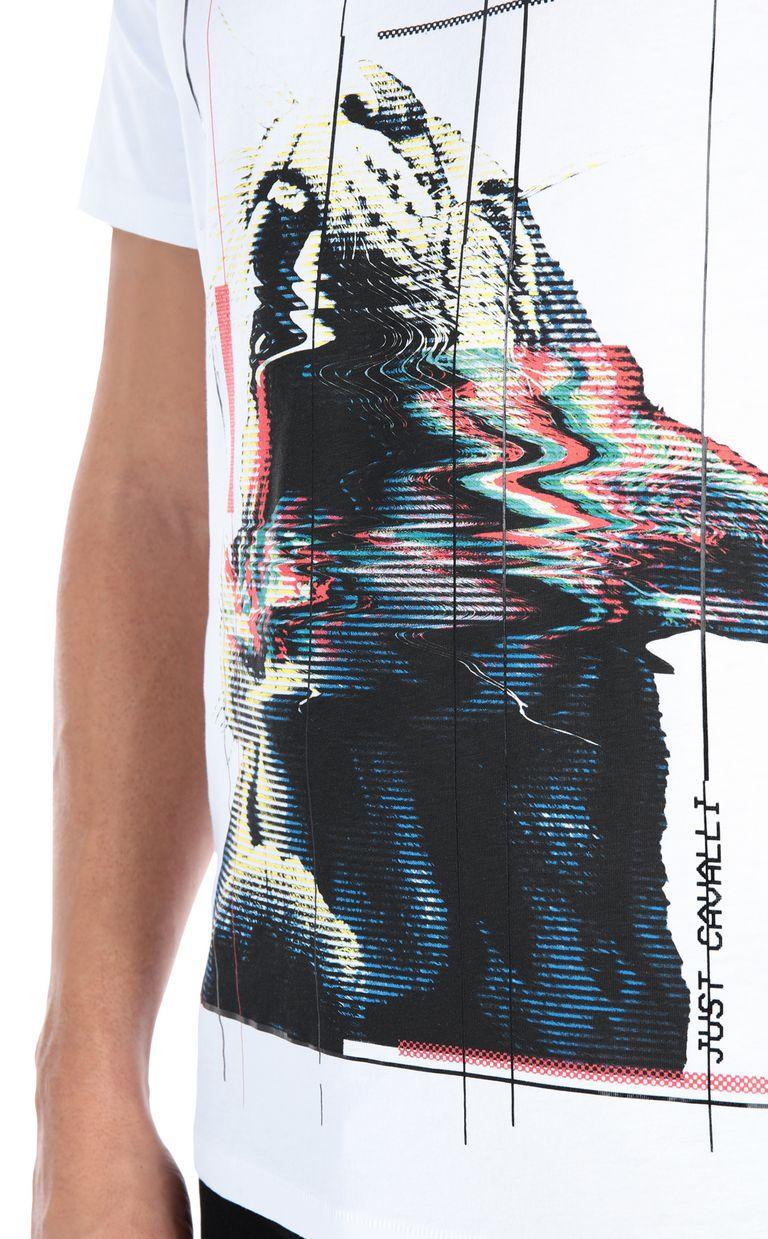 JUST CAVALLI Tiger T-shirt Short sleeve t-shirt Man e
