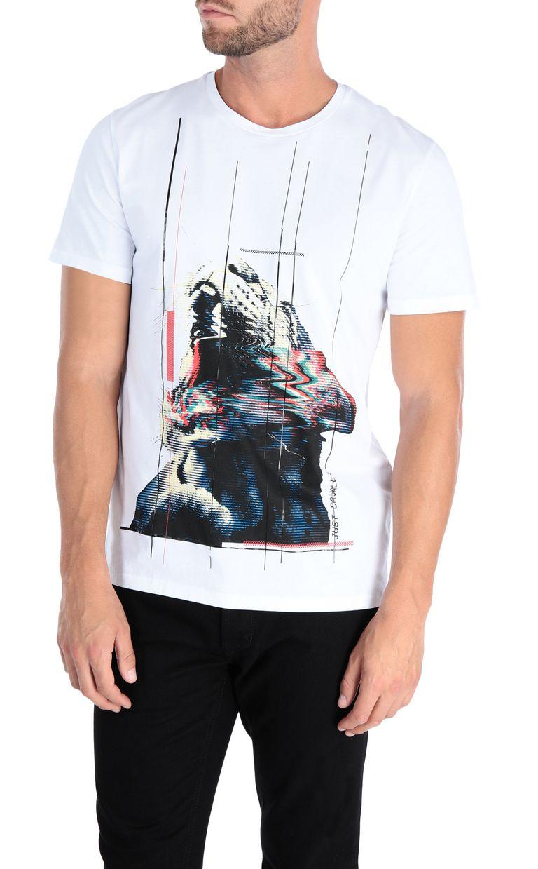 JUST CAVALLI Tiger T-shirt Short sleeve t-shirt Man f