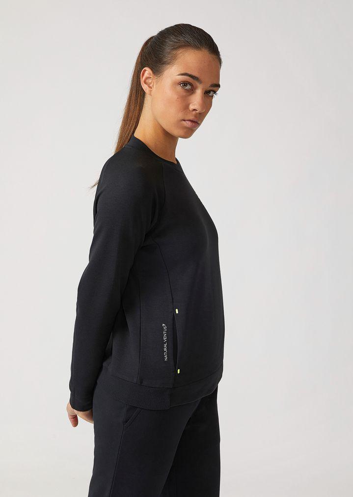 c3252608e7 Breathable Ventus 7 technical fabric sweatshirt | Woman | Ea7