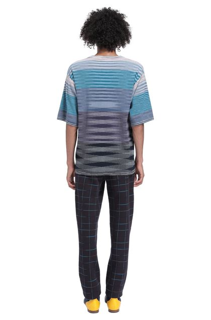 MISSONI Men's T-Shirts Lilac Man - Front