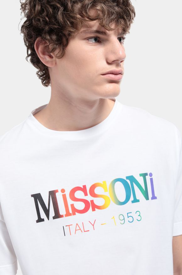 MISSONI Men's T-Shirts White Man