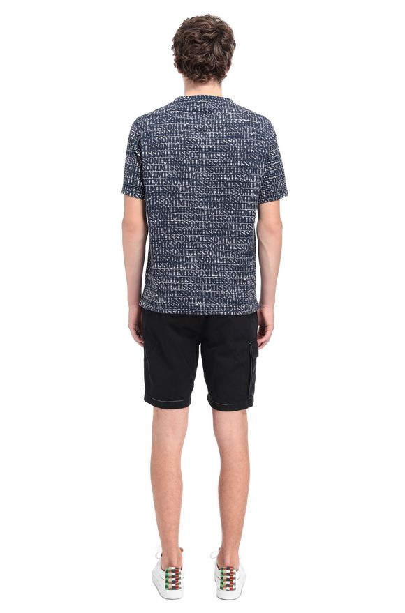 MISSONI Men's T-Shirts Dark blue Man