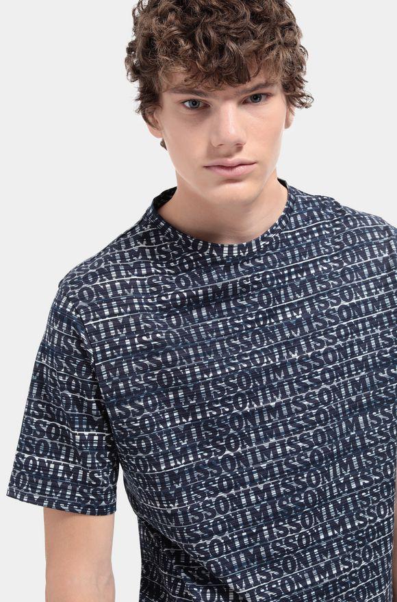 MISSONI T-shirt homme Homme, Détail
