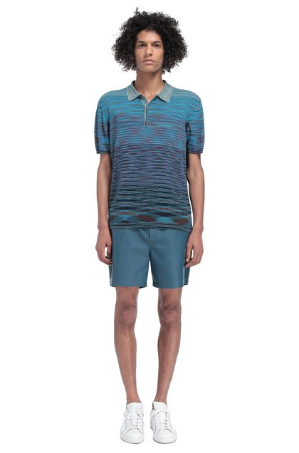 MISSONI Polo uomo Blu scuro Uomo - Retro