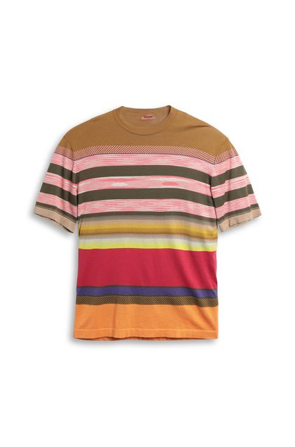 MISSONI Men's T-Shirts Coral Man - Back