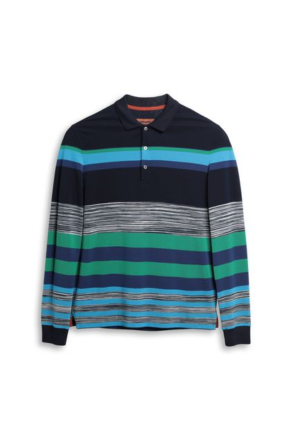 MISSONI Men's polo Dark blue Man - Back