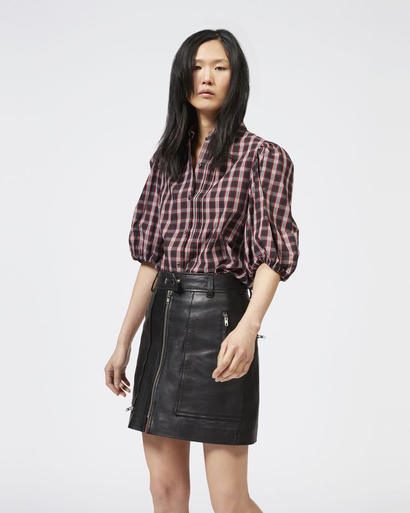 OREM plaid shirt ISABEL MARANT ÉTOILE