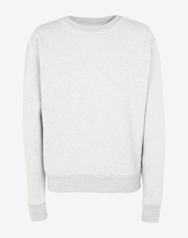 MAISON MARGIELA Sweatshirt [*** pickupInStoreShippingNotGuaranteed_info ***] Transparent elbow-patched sweatshirt f