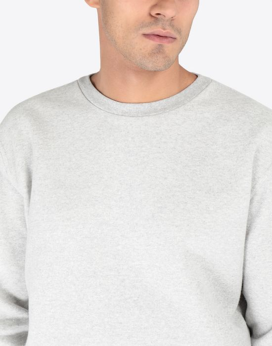 MAISON MARGIELA Transparent elbow-patched sweatshirt Sweatshirt [*** pickupInStoreShippingNotGuaranteed_info ***] a