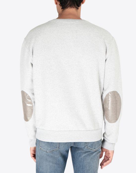 MAISON MARGIELA Transparent elbow-patched sweatshirt Sweatshirt [*** pickupInStoreShippingNotGuaranteed_info ***] e