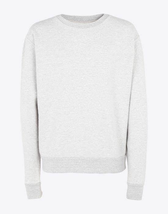 MAISON MARGIELA Transparent elbow-patched sweatshirt Sweatshirt [*** pickupInStoreShippingNotGuaranteed_info ***] f